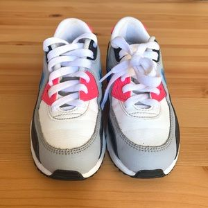 Nike Air Max 90 sz 12c kids girls gs